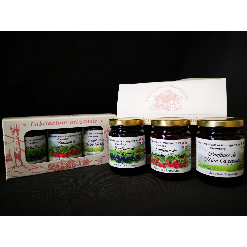 Assortiment de confiture 3x125g